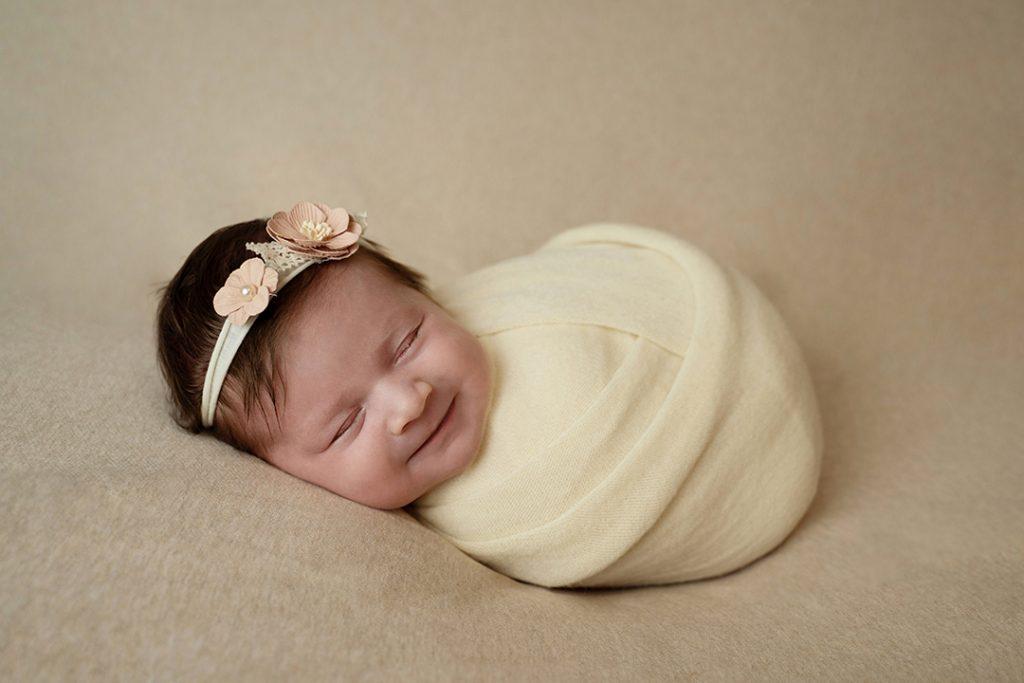 Newborn fotografie wrap