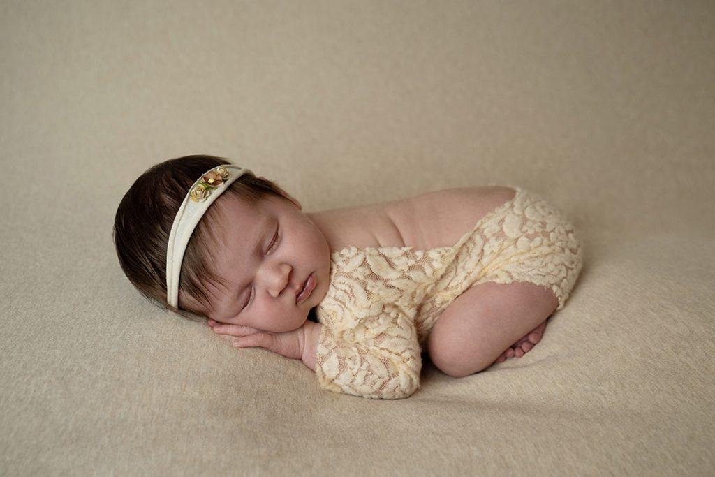 Newborn fotografie poseren