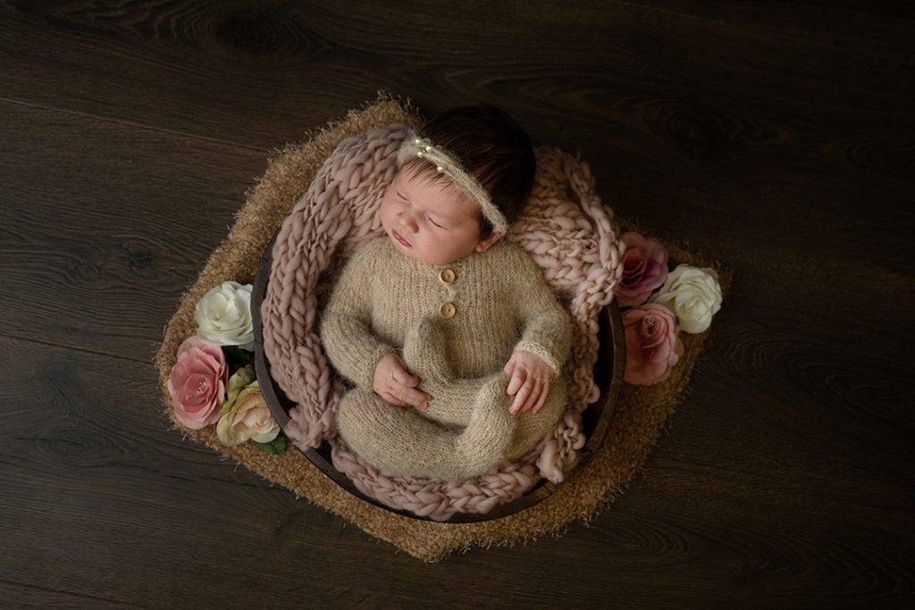 Newborn fotografie prop